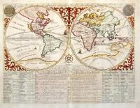 Mapmonde ou description generale du globe terrestre.