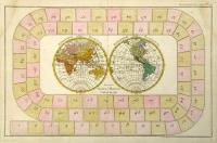 Mappe-Monde. Tableau du jeu.