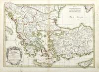 Turquie d' Europe et  partie de celle d' Asie divisèe pur grandes provinces et gouvernem.ts