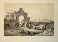 Sturm des II.ten Wiener Freiwilligen Btl. Auf die Cascina Visconte in der Schlacht von Novara den 23.ten Maerz 1849.