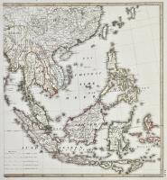 Charte von Ost Indien diesseits und jenseits des Ganges
