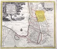 Palaestina seu Terra a Mose et Iosua occupata et inter Iudaeos distribute per XII tribus, vulgo Sancta appellate…