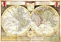 GLOBUS TERRESTRIS ex probatissimis recentiorum Geographorum Observationibus confectus cum Systemate Copernicano atque Tychonico, aliisque Phaenomenis