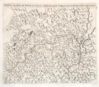 Abriss der Landschafft Veltlin vom frantzosischen General Marquis di Covuri den Spanischen abgenommen.