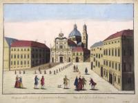 Prospetto della Chiesa di S. Giovanni in Parma.