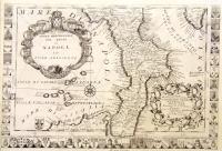 Parte meridionale del Regno di Napoli ed isole adiacenti.
