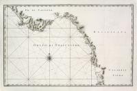 Carta nautica del golfo di Policastro