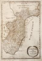 Calabria ulteriore cioè Le provincie di Catanzaro e Reggio.