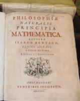 Philosophiæ Naturalis Principia Mathematica. Auctore Isaaco Newtono, Equite Aurato. Edition Ultima, Auctior et Emendatior.
