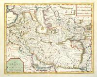 Nuova carta del regno di Persia