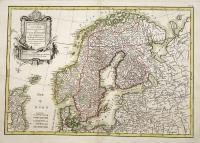 Les couronnes du nord comprenant les royaumes de Suede Danemarck et Norwege divisés par provinces et gouvernemens.