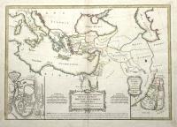 Carte des regions et des lieux don't il est parlé dans le nouveau Testament