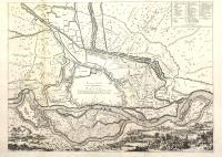 Plan de la Ville et des environs de Pavie.