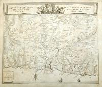 Carta topografica de' contorni di Genova e delle due valli di Polcevera e Bisagno con sue adiacente.
