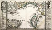 Insul und Koenigreich mit angrenzenden Custen.