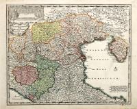 Lombardia inferioris tabula in qua Ditio Veneta, Parmensis, Mutinensis et Mantuana