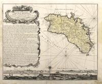 Carte topographique dell'Isle Minorque.