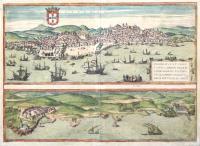 Olisipo, sive ut pervetustae lapidum inscriptions habent, Ulysippo, vulgo Lisbona florentissimum Portugalliae emporium – Cascale Lusitaniae Opp.