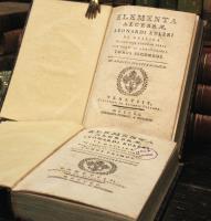 Elementa algebrae. Ex gallica in latinam linguam versa cum notis et additionibus.