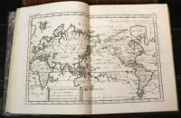 Atlas de toutes les parties connues du globe terrestre dressé pour l'histoire philisophique et politique des établissemens et du commerce des européens dans les deux Indes.