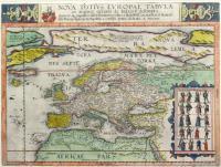 Nova totius Europae tabula ex magnis Gerardi de Iudaeis desumpta…