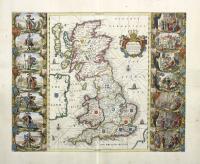 Britannia prout divisa fuit temporibus ANGLO-SAXONUM, praefertim durante illorum HEPTARCHIA