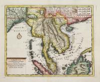 India di la del Fiume Ganges overo di Malacca Siam Cambodia Chiampa Kochinkina Laos Pegu Ava &c.