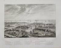 Vue à vol d'Oiseau de la Ville & du Port de Malte; Plan géométral ...; Ile & Port de Malte – Entrée & interieur ...; Fort Manoel & Ile du Lazareth... – Citè Victorieuse ...