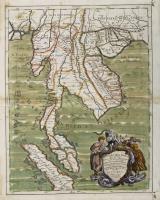 Penisola dell'India di là dal Gange divisa ne i regni che in essa si contengono…e conforme le relationi di alcuni Padri della Comp.a di Giesù di Monsù Tavernier, Mandeslo e d'altri viaggiatori del nostro secolo