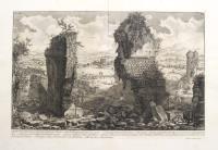 Veduta degli Avanzi sopra terra dell'antico Ustrino; e delle fabbriche pertinenti al medesimo