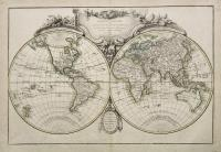 Mappe-Monde description duu globe terrestre assujettie aux observations astronomiques…