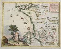 Carta geografica del Capo di Buona Speranza.