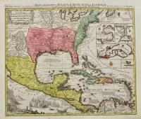 Mappa geographica regionem Mexicanam et Floridam terrasque adjecentes…