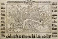 Plan of London from actual survey 1832 presented gratis to the readers of the United Kingdom Newspaper by their obliged & humble servants The Propietors