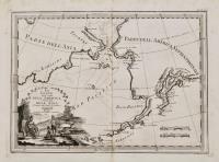 Le Coste Nord Ovest Dell'America e Nord Est dell'Asia Delineate sulle ultime Osservazioni del Cap. Cook