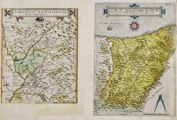 Comitatus Venayscinensis nova disriptio (with) Nova et exactissima descriptio nobilis provincia Guipuscovae in partibus Hispania sita