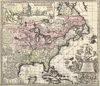 Accurata delineatio celeberrimae Regionis Ludovicianae vel Gallice Louisiane ol. Canadae et Floridae...