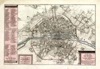 Le plan de la ville, cité et université de Paris.