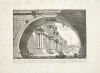 Ponte magnifico con Logge, ed Archi eretto da un imperatore…