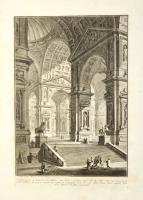 Galleria grande di statue, la cui struttura è con archi…