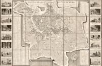 Pianta della città di Roma con la indicazione di tutte le antichità e nuovi abbellimenti pubblicata in Roma nell'anno MDCCCXXIII.