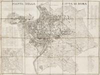 Pianta della città di Roma nell'anno 1830
