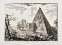 Veduta del Sepolcro di Cajo Cestio