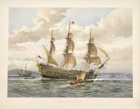 Battle ship. About 1650