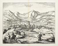 Fondi Petite ville de la Terre de Labour, Provence du Royaume de Naples.