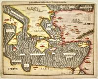 Tafel der Länder/darin der Apostel Paulus geprediget hat.