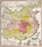 Regni Sinae vel Sinae propriae mappa et descriptio geographica …