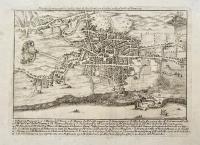 Pianta scenografica della Città di Aci Reale in Sicilia nella Valle di Demona