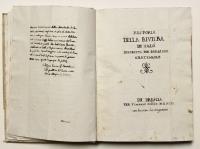 Historia della Riviera di Salò descritta per Bongiani Grattarolo (con) De nobilitate Brixiae...