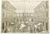 Teatro per Naumachia adattato nel cortile di Palazzo Pitti
